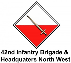42nd Infantry Brigade & Headquaters North West logo